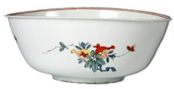 Meissen Bottger porcelain waste bowl