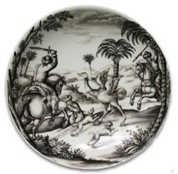 Meissen Bottger porcelain saucer