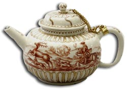 Meissen Bottger teapot and cover