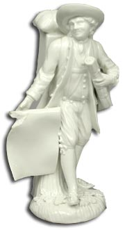 Meissen Map Seller figure