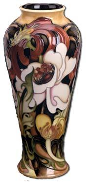 moorcroft edwardiana vase by emma bossons