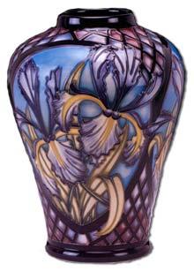 Moorcroft Siberian Iris Design Vase