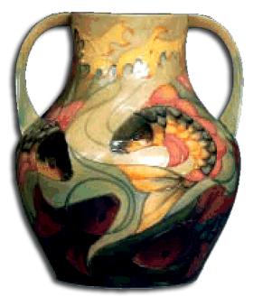 moorcroft - sally tuffin vase