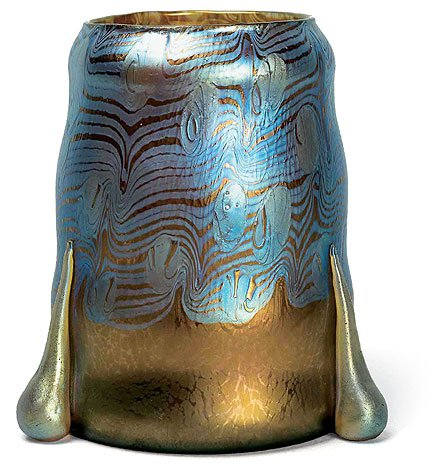 Kolomon Moser Vase for Jahann Lotz 1902