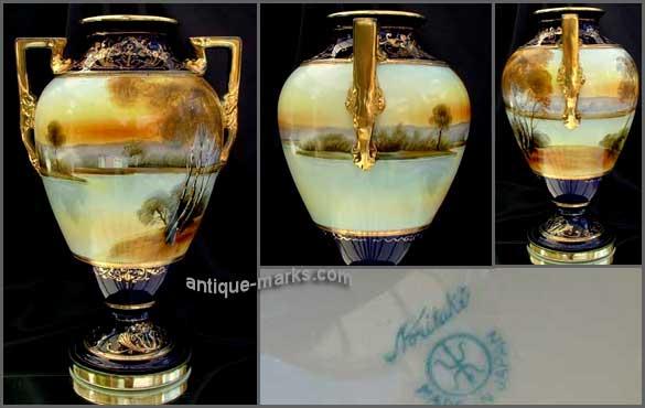 Noritake Marks on a Noritake lakeside vase