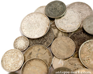 Collection of Old European Silver Coins