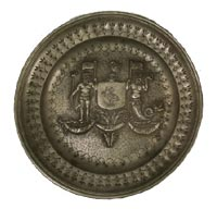 Pewter Armorial Plate