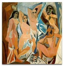 Antique Glossary - Pablo Picasso Demoiselles