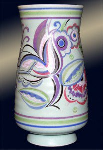 Poole Pottery Vase Designed By Truda Adams