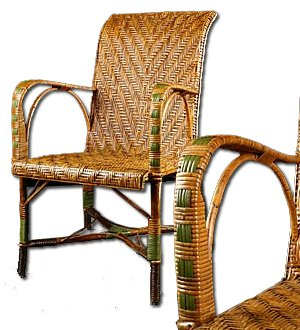 Very Collectable Antique Rattan Chair