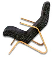an eero saarinen grasshopper chair c1946