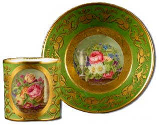 Sevres Porcelain Coffee Can