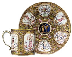 Sevres Cup and saucer