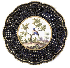Sevres Lobed Stand c1769