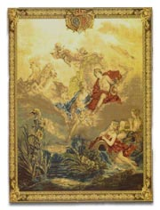 antique marks - caring for antique carpets and tapestry - francois boucher tapestry