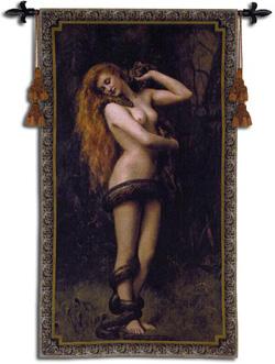 Modern reproduction art nouveau tapestry