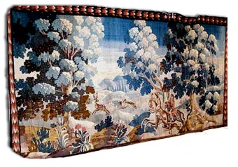 antique oudenarde tapestry