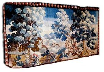 antique oudenarde tapestry