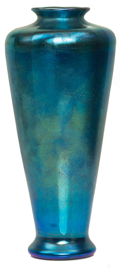 antique marks and buying antiques at auction - tiffany studios favrile vase