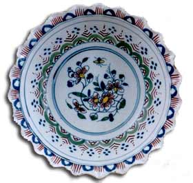 tin glaze delft bow - english c1725
