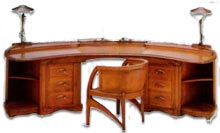 art nouveau van der veld desk