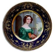 Royal Vienna style hutschenreuther plate