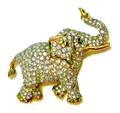 Vintage Swarovski Glass Elephant Brooch