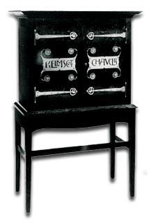 charles voysey - kelmscott chaucer cabinet