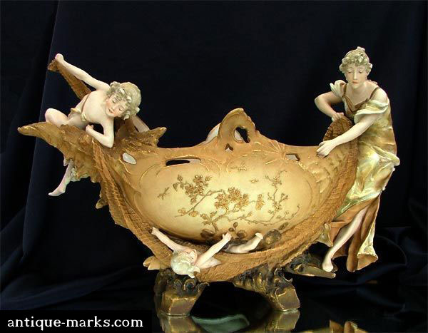 Antiques Collection - Ernst Wahliss Centrepiece