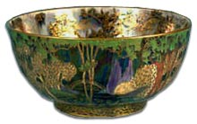 Wedgwood Fairyland Lustre bowl in Fairy Bridge Design