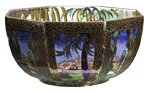 Rare Wedgwood Fairyland Lustre Fairy Castle Bowl