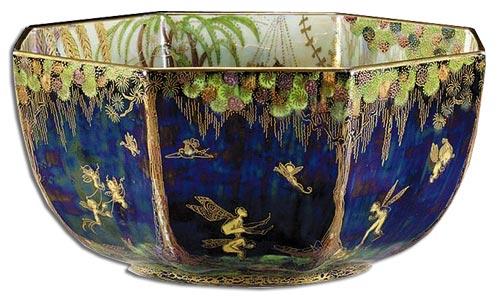 Daisy Makeig-Jones Fairy and Elves Fairyland Lustre Bowl