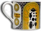 antiques a-to-z - wedgwood Eric Ravilious barlaston mug c1940