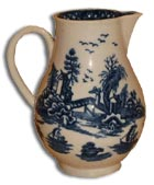 Royal Worcester argument jug