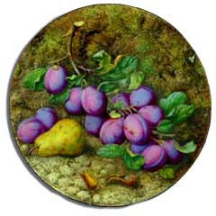 Royal Worcester fruit painted by octar copson
