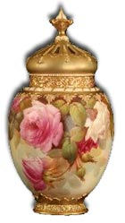 Worcester Walter Sedgley pot pourri and cover