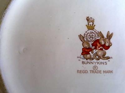 Dating royal doulton bunnykins marks