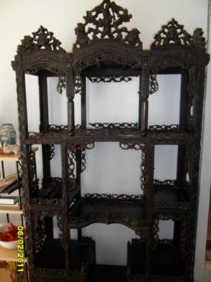 Frontal view of Chinese Curio