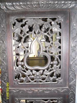 Chinese Curio upper side panel