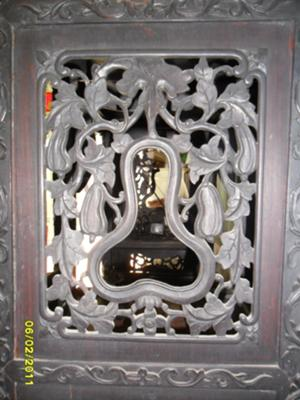 Chinese Curio middle side panel