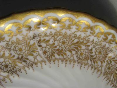 Doulton Burslem close-up of the saucer