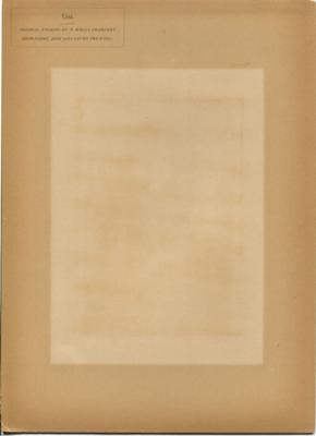 The back of the George Eliot satin proof