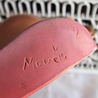 Moucka Marks on German Dolls Head Plaque