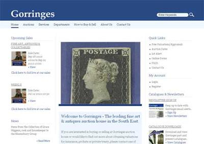 Gorringes Auction House Online
