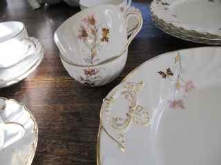 French Antique Tea Set