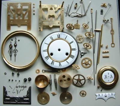 Horologica Stripped Down Clock Repairs