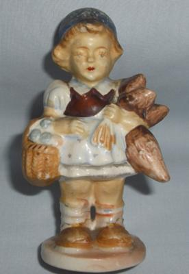 Possible Hummel Girl Figurine - Front