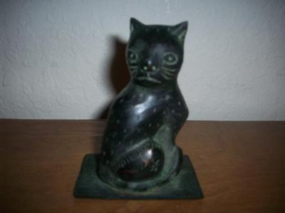 Ming Dynasty Cat Figurine