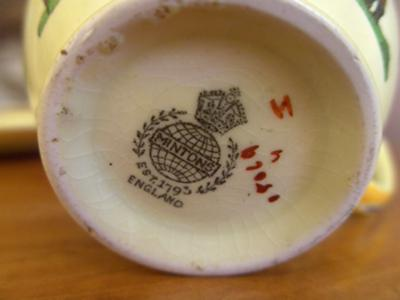 Minton Teacup Mark