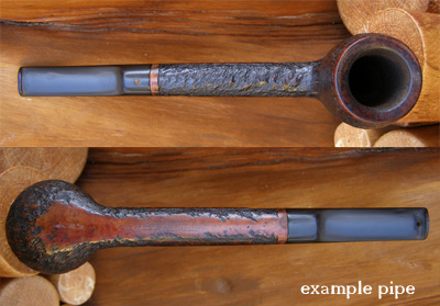 Example of a Norwegian Smoking Pipe